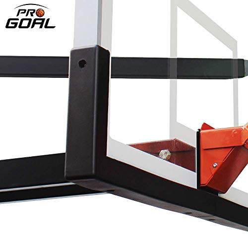 PROGOAL Universal UV-Resistant Basketball Backboard Padding Fits All 48' Basketball Systems Indoor Outdoor