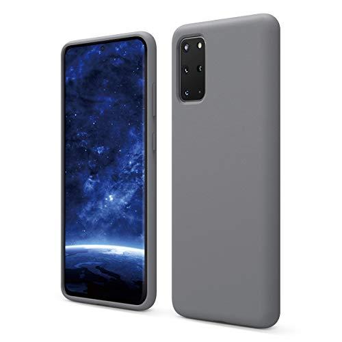 elago Galaxy S20 Plus Silicone Case - Designed for Samsung Galaxy S20 Plus Case (Medium Grey)