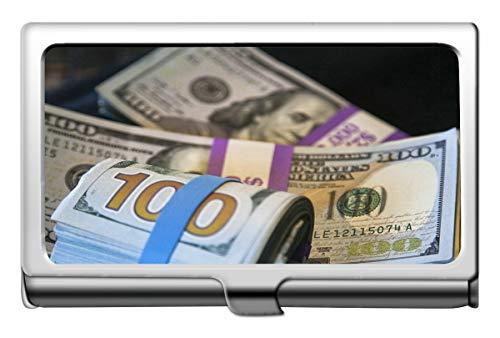 Professionelle Visitenkartenetui, Geld, Bargeld, Reichtum, Visitenkartenetui, Brieftasche, Kreditkartenetui