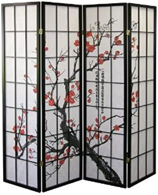 Amazon.com: Oriental Furniture 6 ft. Tall Faux Leather ...