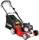 Cobra M46SPB 46cm (18in) Petrol <span class='highlight'>Lawn</span>mower with steel deck, self propelled powered by a B&S engine