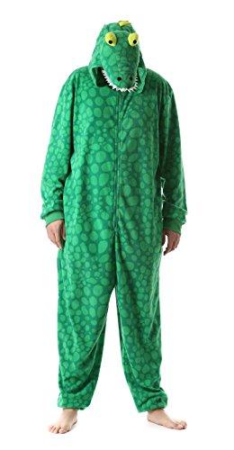 Just Love 6347-M Men's Adult Onesie Mens Pajamas Gator Medium