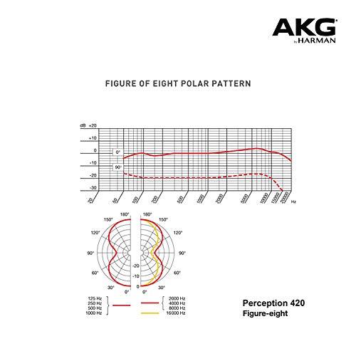 AKG Pro Audio P420, Sliver Blue, 9.80 x 5.50 x 9.00 inches (3101H00430)