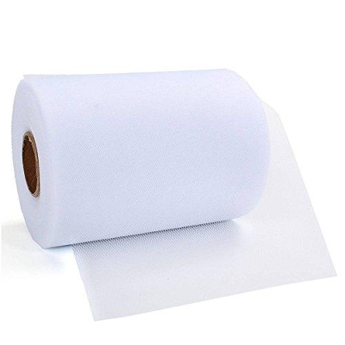 Weißer Tüllstoff - 3