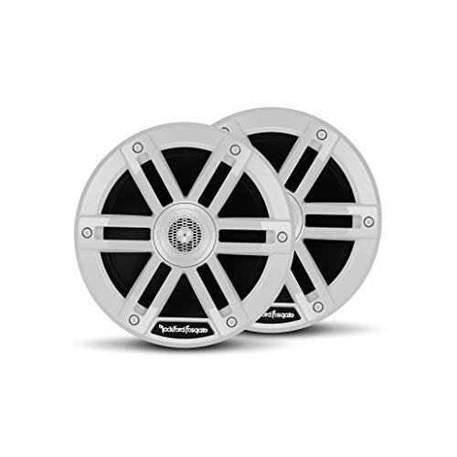 """Rockford Fosgate M0-65 Marine Grade 6.5"""" Full Range Speakers - White (Pair)"""