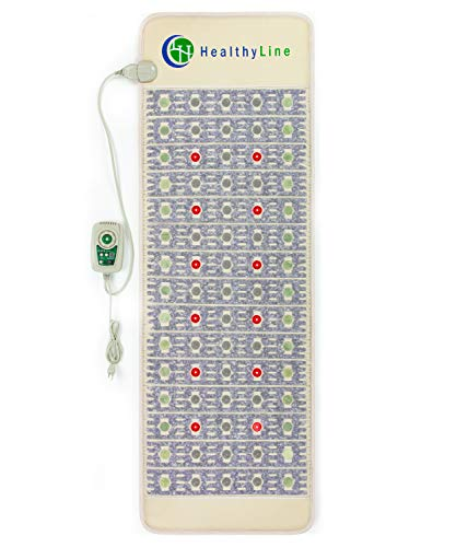 New Healthyline Pemf Therapy Mat - 72 x 24 Firm - Advanced Multi-Purpose Amethyst Infrared Heating...