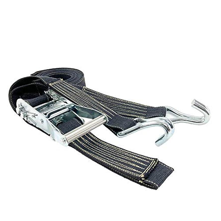 銀行退屈させるペンスアヴィエラン(AVIELAN) 耐熱ラッシングベルト50mm幅 Jフック ×3m 固定側0.5m