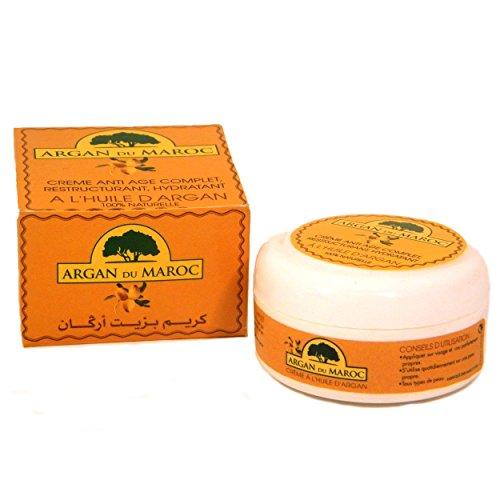 Crema antienvejecimiento de aceite de argán, de la marca Argan Du Maroc, 100 ml