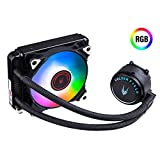 GOLDEN FIELD SF120 RGB All-in-One Liquid CPU Cooler with 120mm Radiator Water Cooling Cooler System for Intel AMD