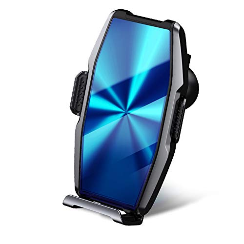Soporte Para Teléfono Para Automóvil Con Bloqueo Automático Soporte Para Teléfono Con Base Para Automóvil Con Ventilación Universal Giratoria De 360 ° Para Otros Teléfonos Inteligentes,Azul