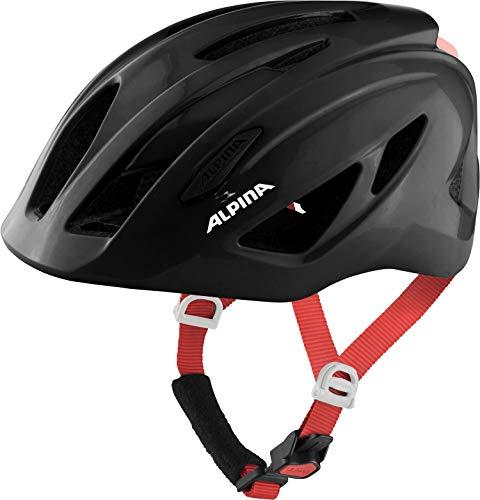 Alpina Unisex Jugend PICO Fahrradhelm, Black Gloss, 50-55 cm