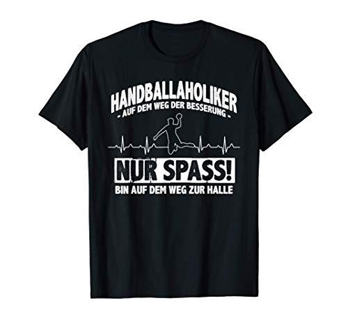 Handballaholiker? Ich? - Handball-Fan Handball T-Shirt