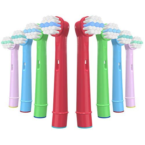 YanBan per Oral B Testina spazzolino per bambini, Testine di ricambio spazzolino elettrico per...