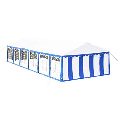 vidaXL XXL 6x12 m PVC Bierzelt Zelt Pavillon Partyzelt Festzelt Vereinszelt Gartenzelt