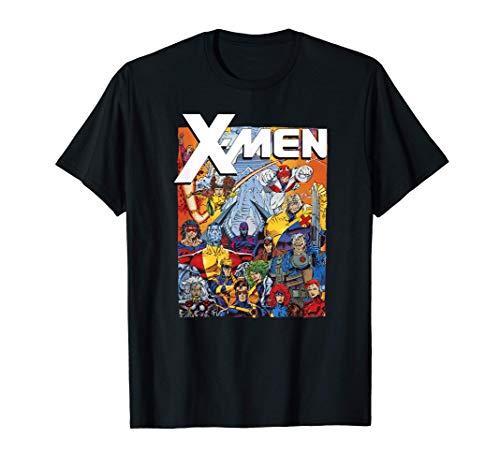 Marvel X-Men Classic Vintage Team Nineties Camiseta