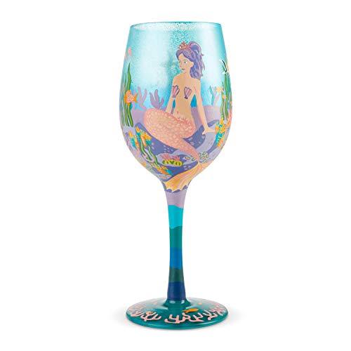 Lolita Miss Mermaid Wine Glass Copa, modelo sirenita