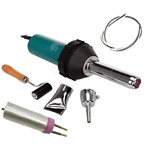 1080W plástico calor aire caliente soldador plástico soldadura pistola kit antorcha PE PVC pistola vinilo portátil secado sellado con boquillas de soldadura