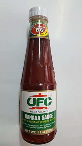 Bananensauce Sweet & Spicy - Bananen Ketchup 320g