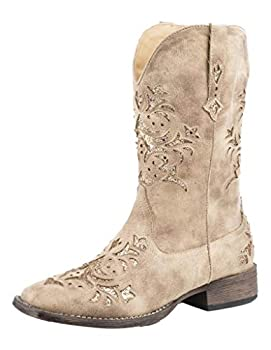 Roper Women s Western Fashion Boot Tan 9