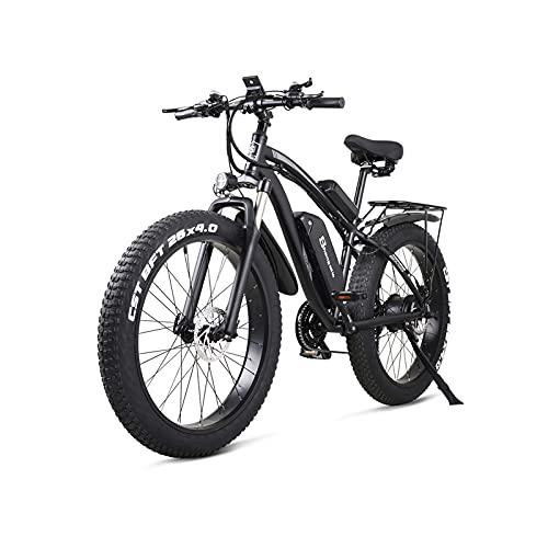 WGG 26 Inch Electric Bike 1000W Mens Mountain Bike Snow Bike 48V17Ah...