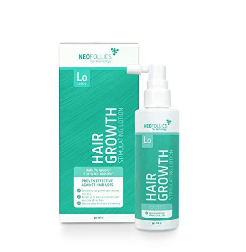 Neofollics - Haarwachstum-fördernde Lotion - Reduzierung von Haarausfall - mit Hyaluronsäure und 5 pflanzlichen Wirkstoffen - für Männer & Frauen 100ml