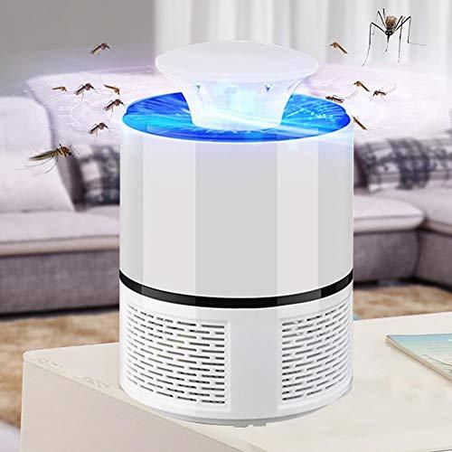 LSXSZZ8-Trampa Mosquitos Moscas Insectos, Mata Mosquitos Atrapa Electrico Lampara con Luz USB...