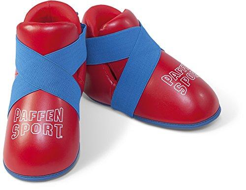 Paffen Sport Kids Kinder-Fußschutz – rot/blau/weiß – GR: XXS
