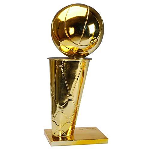 NBA Trophy Basketball-Champion Trophäe 1: 1 Modell Multi Size Optional for Fans Kollektionen, Dekoration, Geschenk (Size : 45cm)
