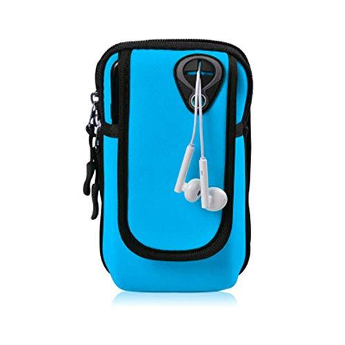 Armtasche Universal Running Mobile Arm Tasche Männer Und Frauen Fitness Outdoor Handgelenk Tasche Sport Handy Armmanschette Sport Arm Tasche Geeignet zum Radfahren Joggen Outdoor-Sport Wander