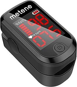 Oxímetro de Pulso en la Punta del Dedo, Pulsioximetro de Dedo, Monitor de Saturación de Oxígeno en Sangre en la Punta del Dedo, Medidor de Oxígeno de Lectura Rápida de SpO2, Oximetro Dedo