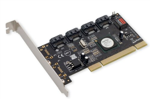 SYBA - Controlador PCI-Raid (4 Puertos SATA-I/II