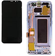 Galaxy S8 5.8inch LCD Display Digitizer Touch Screen Assembly for All Models (G950 G950A G950T G950V) by Mr Repair Parts (for Phone Repair) (Silver)