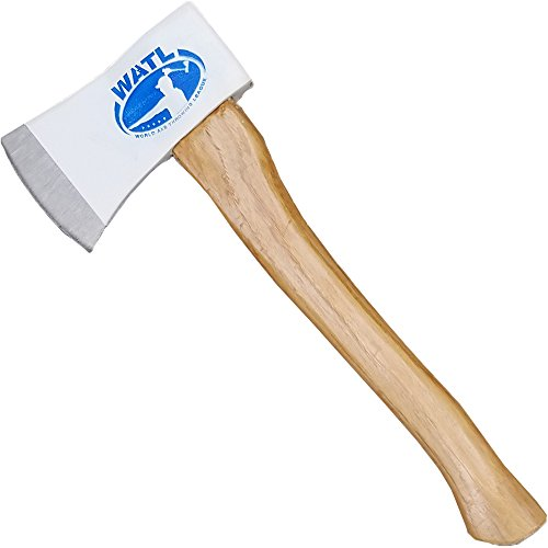 WATL World Axe Throwing League Official Competition Throwing Axe - 15' Hickory Wood Handle
