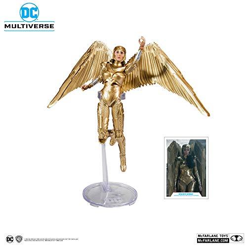 Figura Wonder Woman 1984 DC Multiverse, 18 cm. Golden Armor, McFarlane Toys
