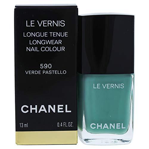 Chanel le Vernis Longue Tenue #590, Verde Pastello, 13 Millilitri