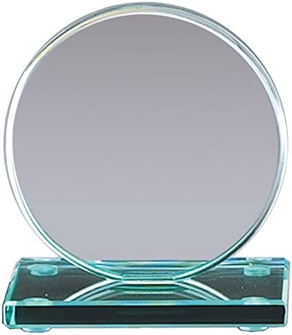 Awards and Alternative dealer Gifts R Us Customizable Inch Glass Award 8 Jade Max 47% OFF Round