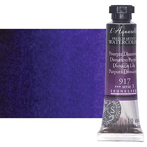 Sennelier l'Aquarelle Watercolor Tubes 10ml - Dioxazine Purple 10ml Tube