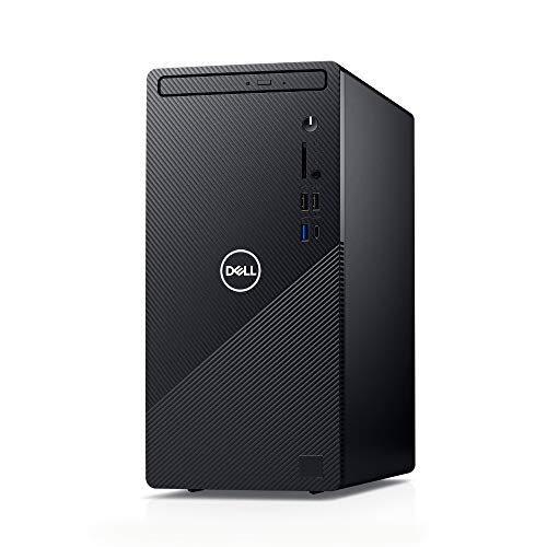[MS Office Home & Business Included] Dell Inspiron 3881 Black Win10/Core i5-10400/8GB/256GB SSD + 1TB HDD/Wireless LAN DI350A-ANHBB