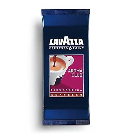 Caffe.com - Lavazza(R) Cápsulas Café originales Lavazza Espresso Point Aroma Club - 100 cápsulas