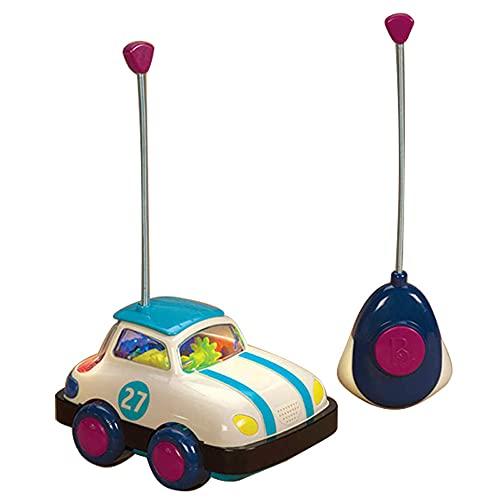 ZDYHBFE Coche de control remoto giratorio Coche eléctrico RC 4WD Vehículo ligero y de sonido Niño niña Coche de juguete Coche de regalo para niños Material plástico reciclable Adecuado para bebés de 3