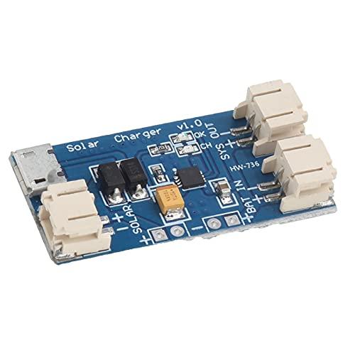 Agatige CN3065 500mA DC 4.4-6V Mini Placa de Carga Solar, módulo de Carga de batería de Litio, Placa de Cargador USB