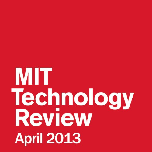 Audible Technology Review, April 2013 audiobook cover art