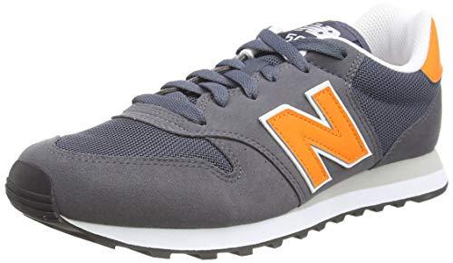 New Balance Herren 500 Varsity Pack Sneaker, Grau (Magnet), 44 EU