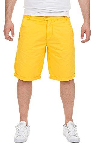 Eight2Nine Herren Shorts & Bermudas Chino Bermuda Kurze Hosen 15772, Sun Yellow, W30