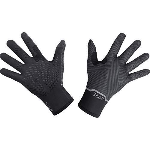 GORE WEAR Stretch Handschuhe, GORE-TEX INFINIUM, 9, Schwarz/Dunkelgrau