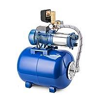 ブルー遠心水2.6HP PUMP + 50L圧力ブースター