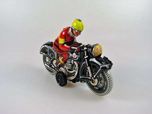 Motorrad schwarz Blech Blechspielzeug 6017028