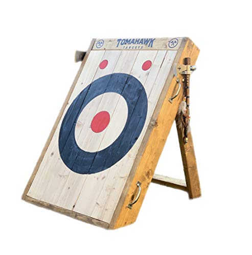 Tomahawk Targets - Foldable Wooden Axe and Knife Throwing Target