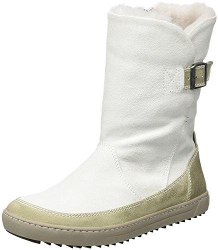 BIRKENSTOCK Shoes Damen Woodbury Stiefel, Weiß (Offwhite Lammfell), 39 EU