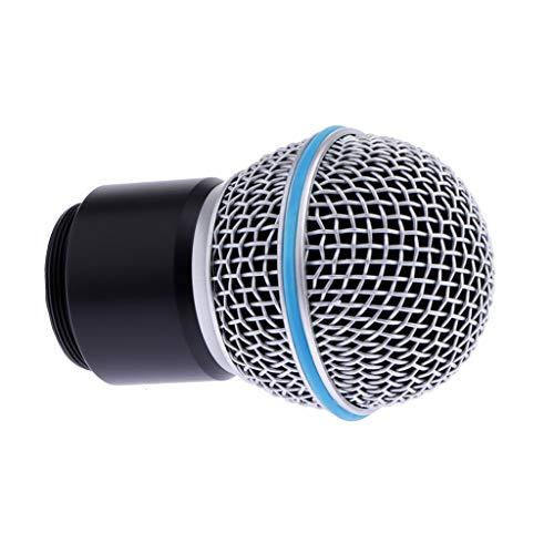 lahomia Cabezal de Cápsula de Repuesto de Micrófono Inalámbrico para Sistema de Micrófono PGX24 SLX4